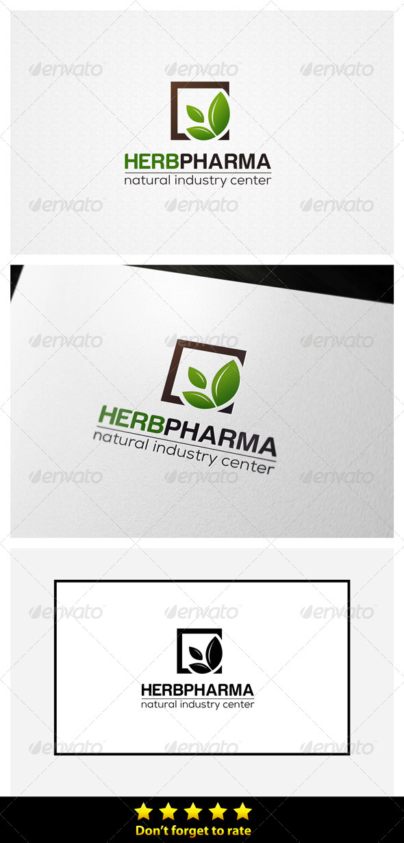 Herbal Industry  - Nature Logo Templates