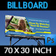 Cleaning Services Billboard - GraphicRiver Item for Sale