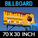 Cake Billboard Template Vol.2 - GraphicRiver Item for Sale