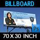 Corporate Business Billboard Template - GraphicRiver Item for Sale