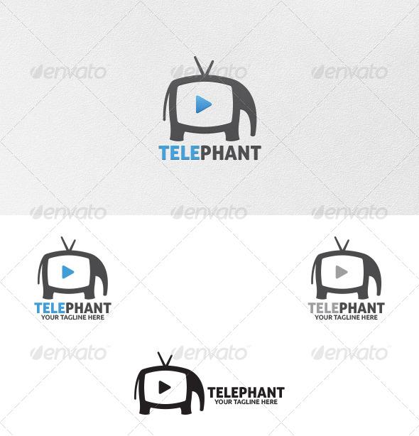 GraphicRiver Elephant Media Logo Template 5488834