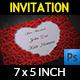 Wedding Invitation Vol.5 - GraphicRiver Item for Sale
