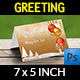 Christmas and New Year Greeting Card Vol.2 - GraphicRiver Item for Sale