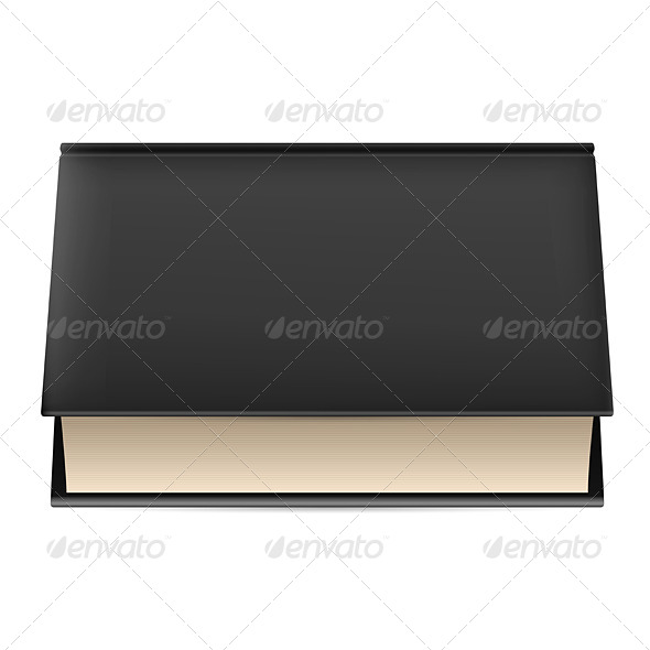 GraphicRiver Book in black cover 5489274