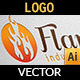 Flame Industry Logo - GraphicRiver Item for Sale