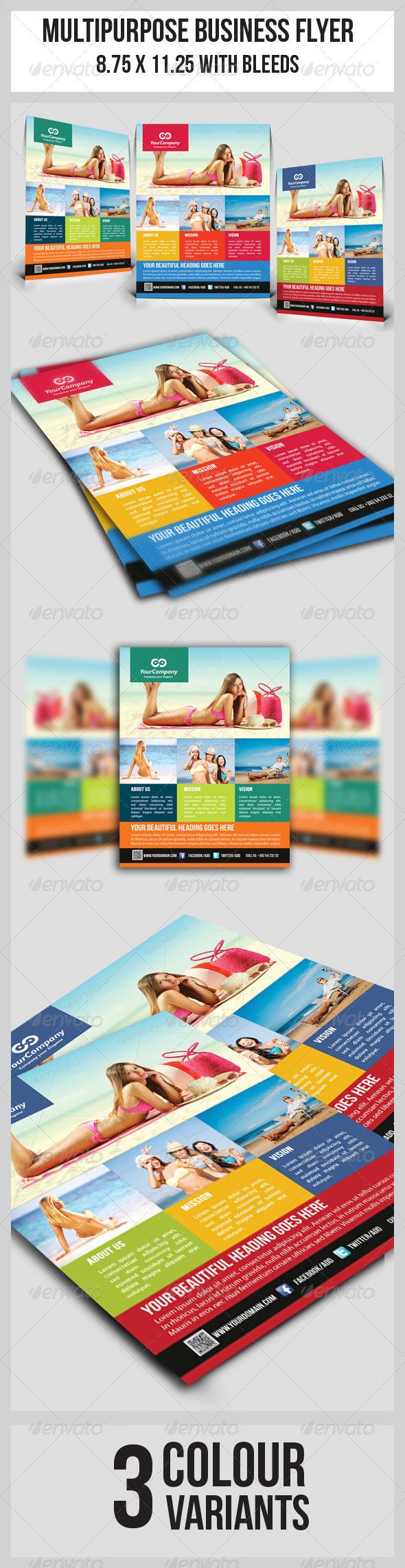 GraphicRiver Tourism Flyer Vol.2 5489901