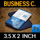 Corporate Business Card Vol.24 - GraphicRiver Item for Sale