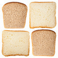 Slices of white and rye bread - PhotoDune Item for Sale