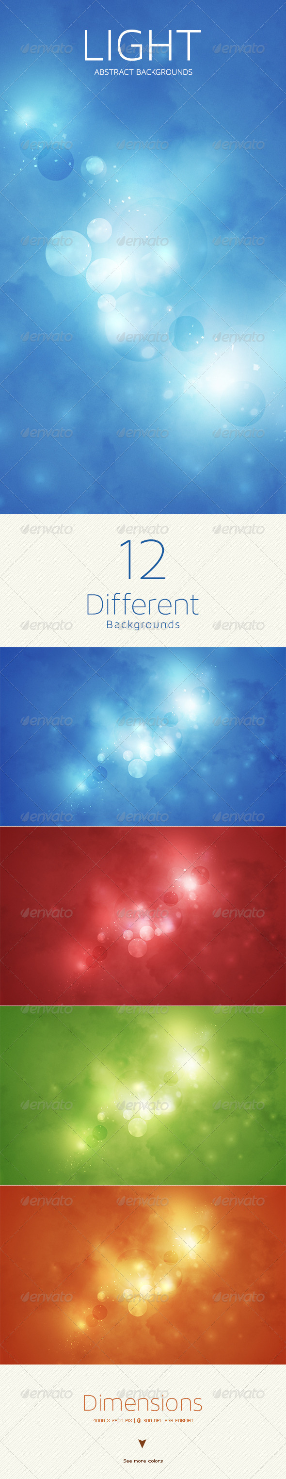 GraphicRiver Light Abstract Backgrounds 5489959