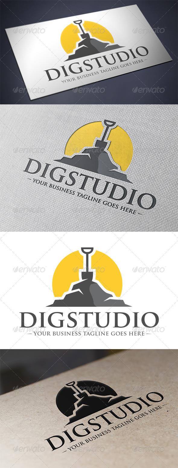 GraphicRiver Dig Studio Logo 5490193