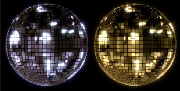 VideoHive Retro Disco Ball 5490231