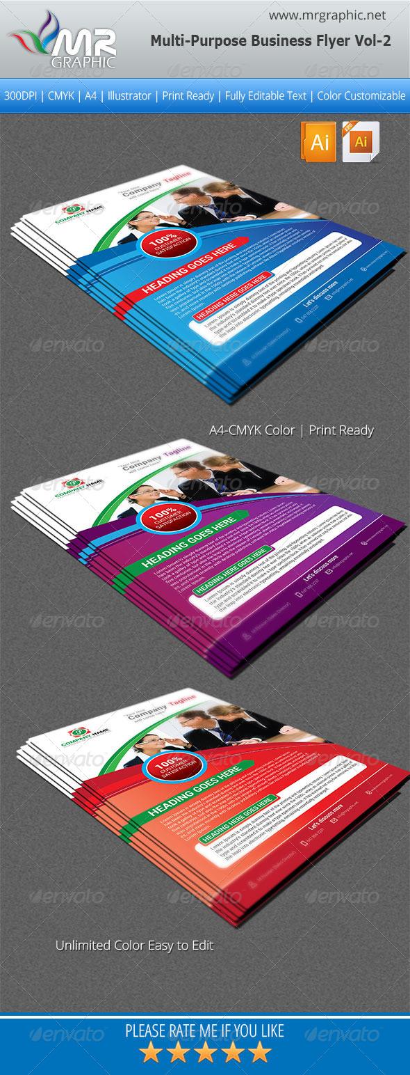 GraphicRiver Multipurpose Business Flyer Vol-02 5490321