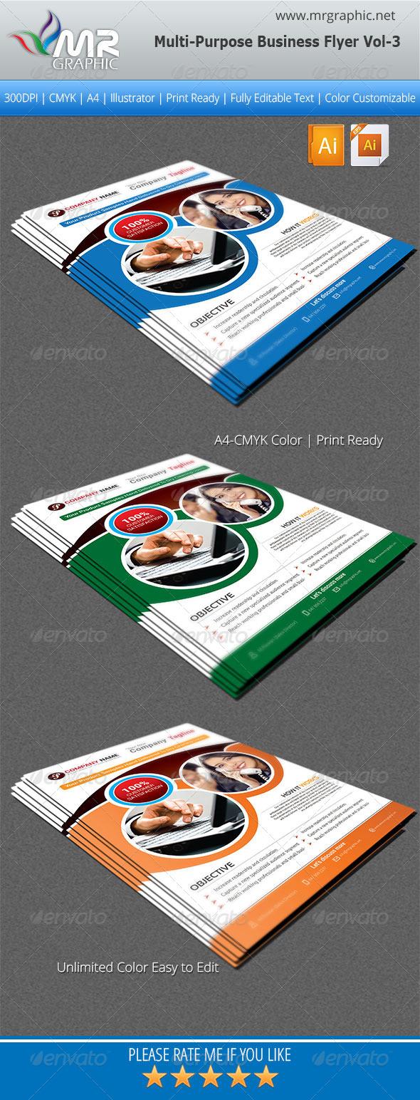 GraphicRiver Multipurpose Business Flyer Vol-03 5490374