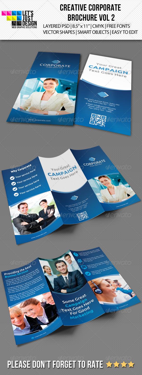 GraphicRiver Creative Corporate Brochure Vol 2 5490524