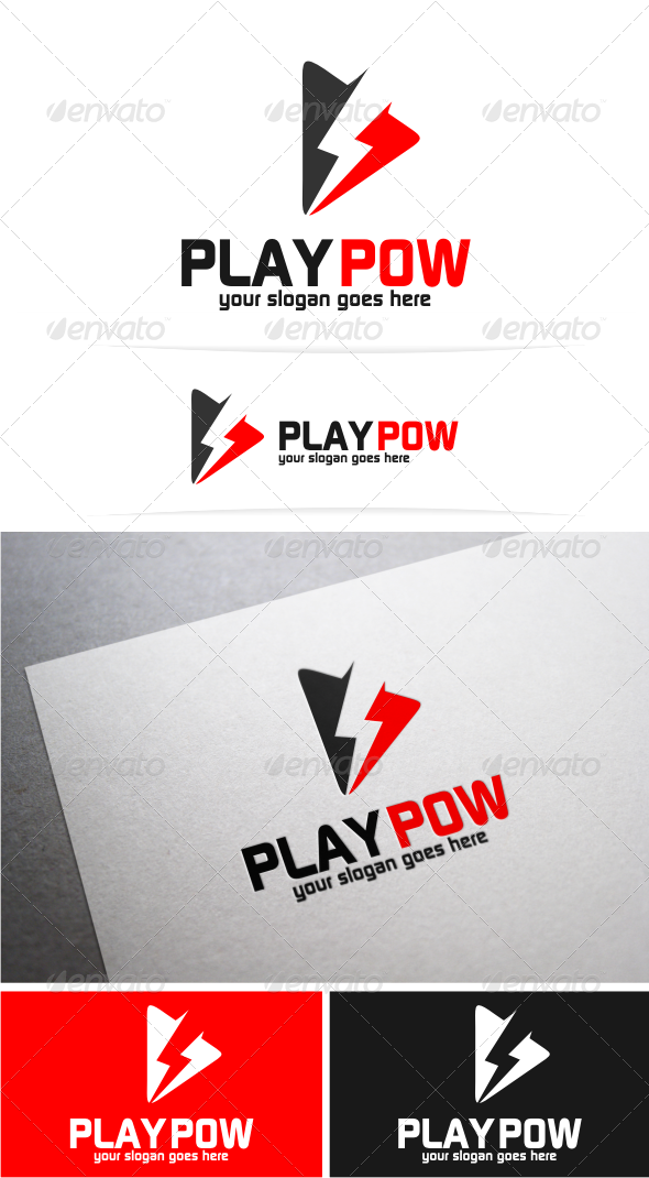 GraphicRiver Play Power Logo 5490554