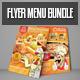 Flyer Menu Bundle - GraphicRiver Item for Sale