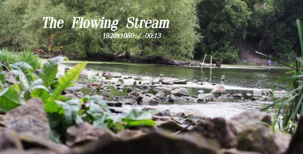 VideoHive The Flowing Stream 2 5491343