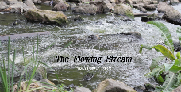 VideoHive The Flowing Stream 3 5491399
