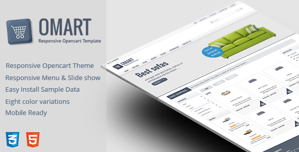 Omart – Mobile ready Opencart theme - Shopping OpenCart
