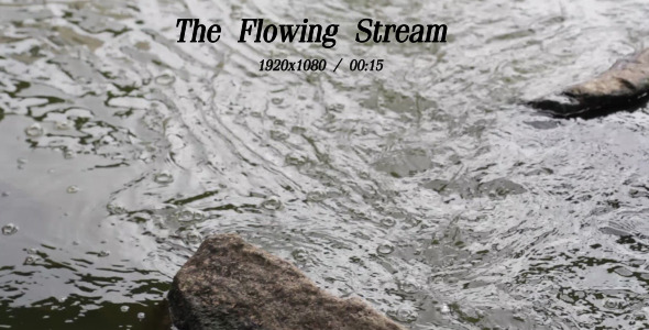 VideoHive The Flowing Stream 7 5492735