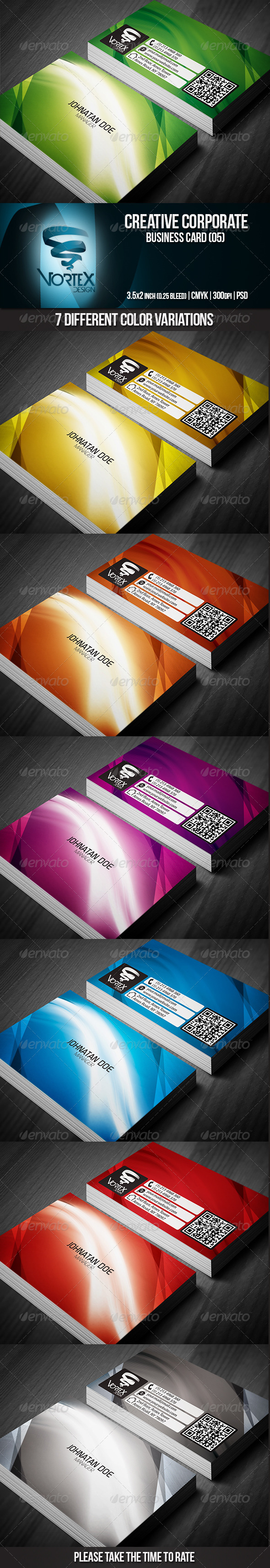 GraphicRiver Creative Corporate Business Card 05 5477921