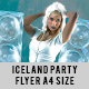 ICELAND PARTY FLYER - GraphicRiver Item for Sale