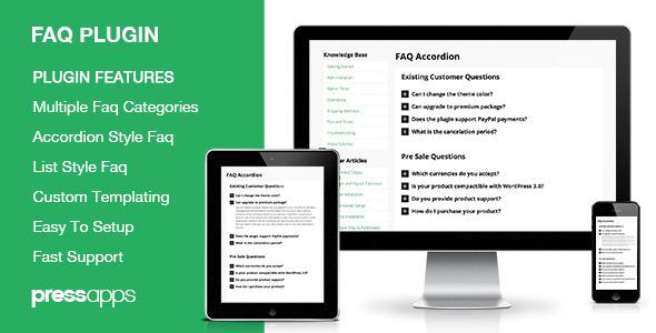 CodeCanyon Accordion FAQ WordPress Plugin 5493363