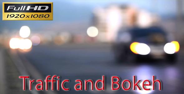 VideoHive Traffic-Bokeh Lights 5494033