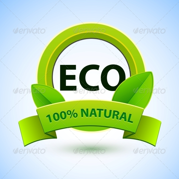 Eco Sign with Promotion Text