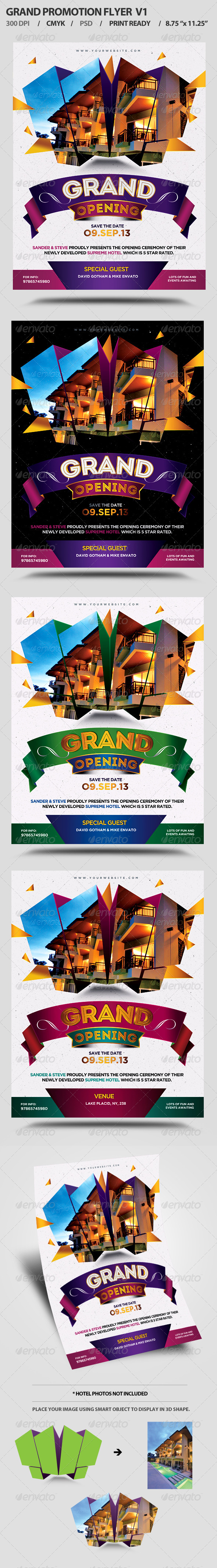 Grand Opening Event Flyer V1 - Events Flyers