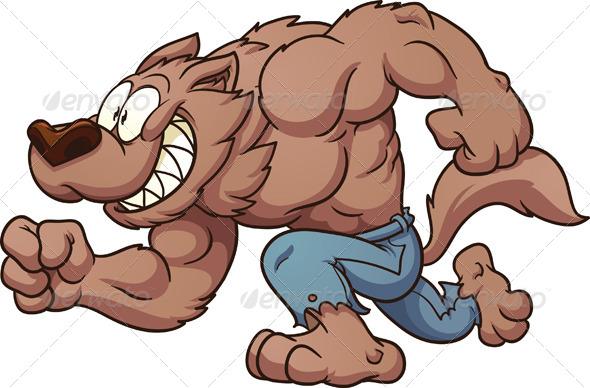 Running Werewolf