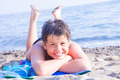 Happy young diver on the sea beach - PhotoDune Item for Sale