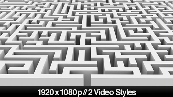 VideoHive Entrance to a Maze or Labyrinth Puzzle 2 Styles 5494438