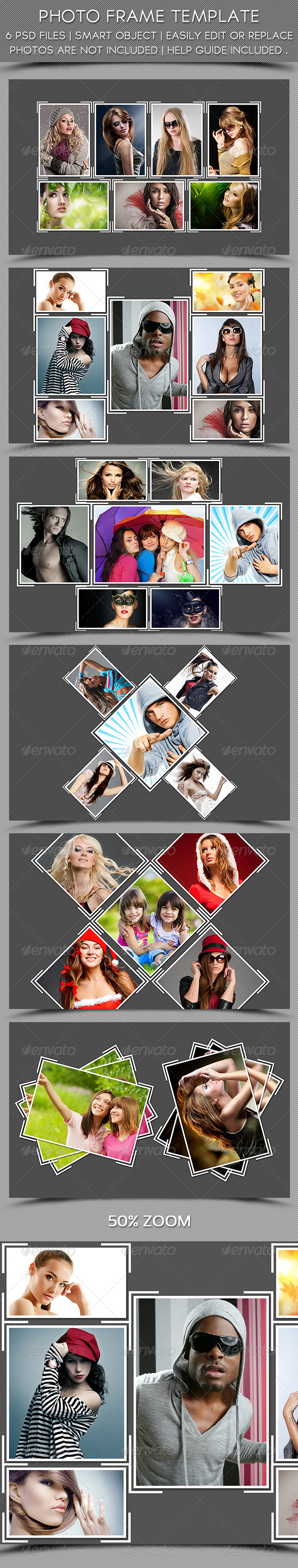 GraphicRiver Photo Frame Template 5483295