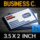 Impact Label Business Card - GraphicRiver Item for Sale