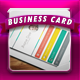 Flat Business Card 1 - GraphicRiver Item for Sale