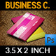 Blogger Business Card - GraphicRiver Item for Sale