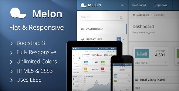 metronic responsive admin dashboard template nulled