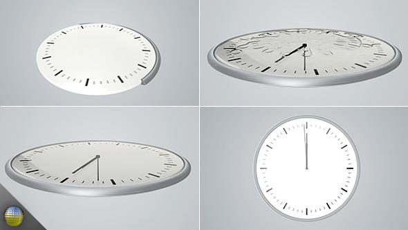 VideoHive Elegant 3D Clock Countdown 5495794