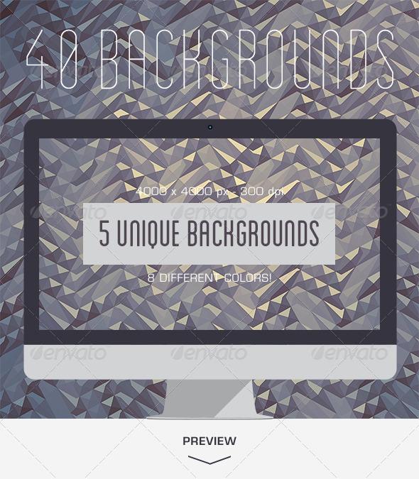 GraphicRiver 40 Diamonds Background 5495858