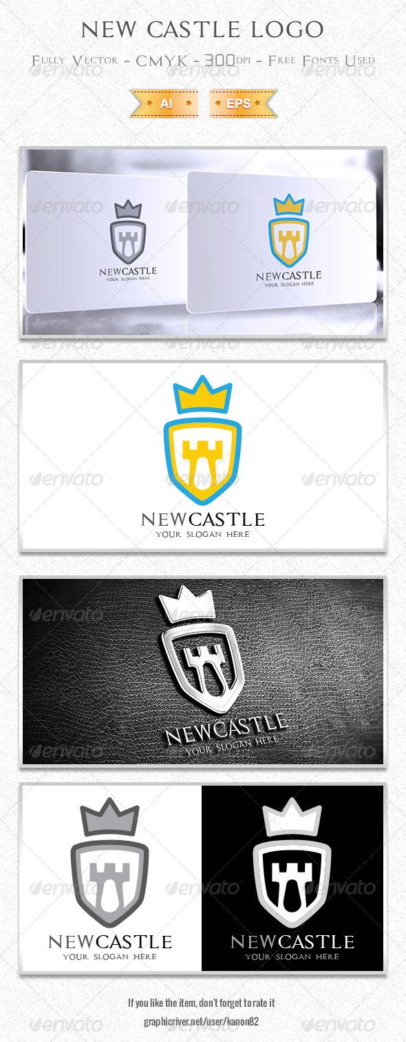 GraphicRiver New Castle Logo 5496418