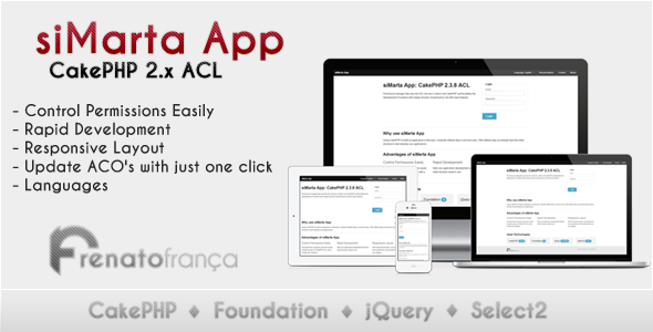 CodeCanyon siMarta App CakePHP 2.x ACL 5496543