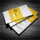 Square Clean Business Card - GraphicRiver Item for Sale