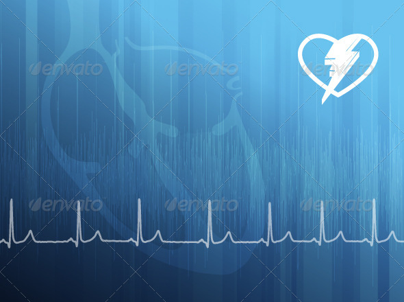 GraphicRiver ECG Abstract Background 5498447