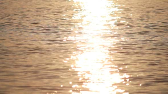 VideoHive Sun Reflection in Waves 5499026