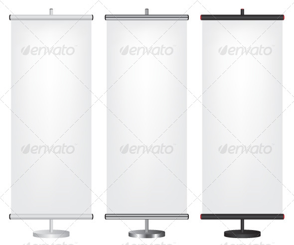 GraphicRiver Roll Up Banners 5499596