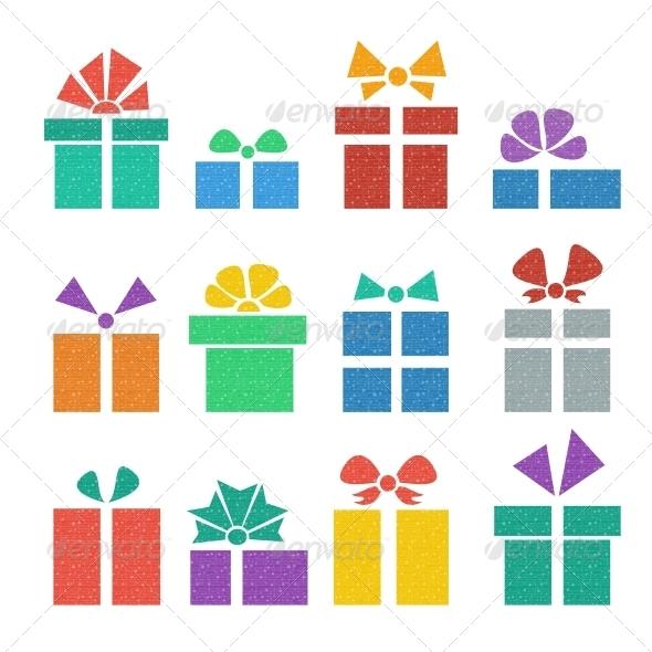 GraphicRiver Gift Box Set 5500043