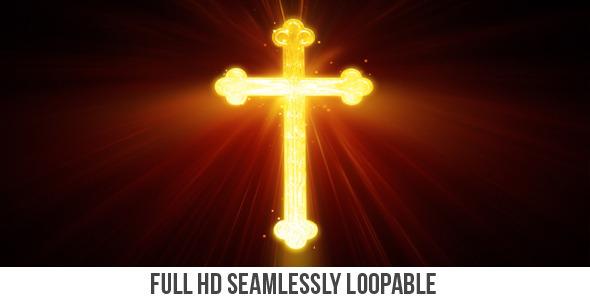VideoHive Golden Cross 5500277