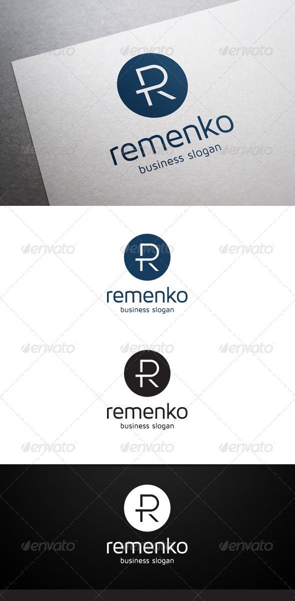 Remenko R Letter Logo