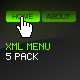 XML Menu 5 Pack - ActiveDen Item for Sale